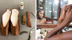 A potência de ser bailarina negra e receber sapatilhas da cor de sua