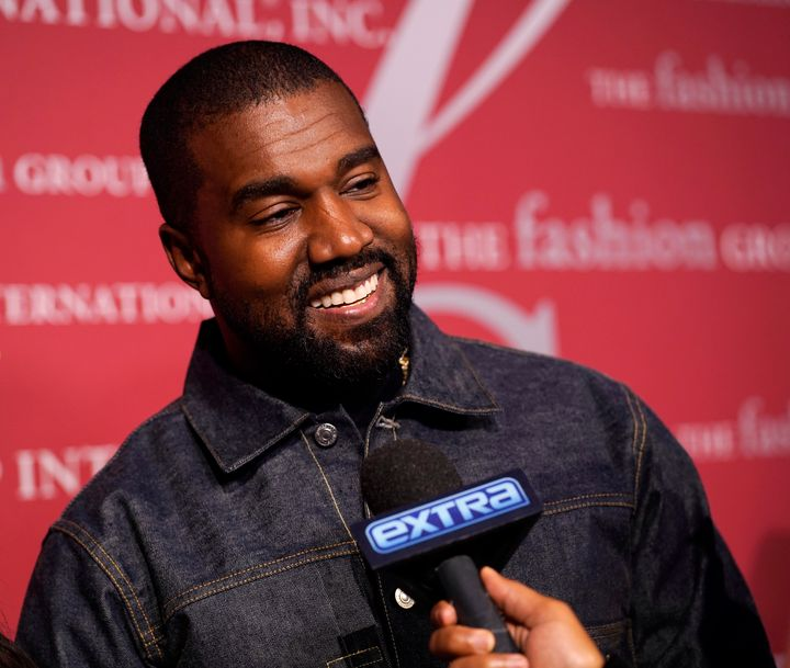 Kanye West attends a gala on October 24, 2019, in New York City.
