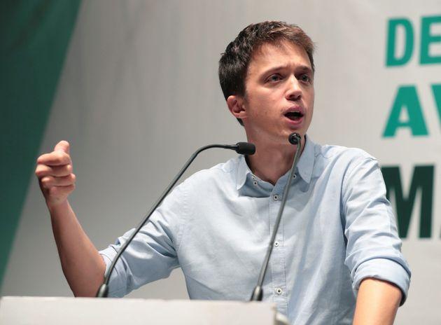El candidato de Más País a la Presidencia del Gobierno, Íñigo