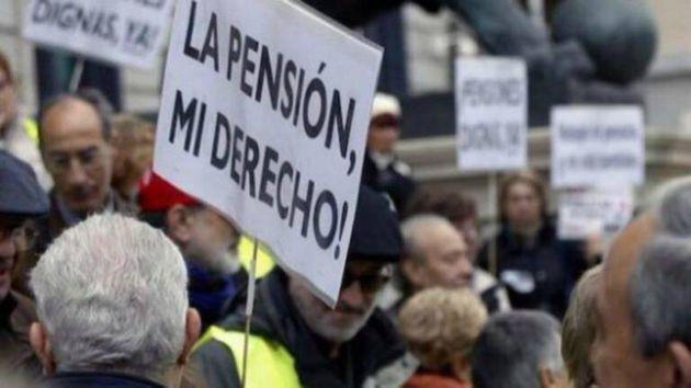 Imagen de archivo de una protesta de los
