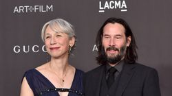 Keanu Reeves et sa compagne Alexandra Grant rayonnants sur le tapis