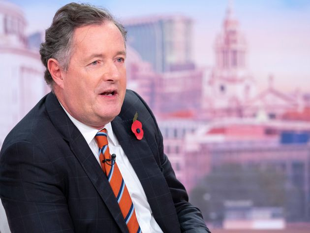 Piers Morgan was not impressed at the