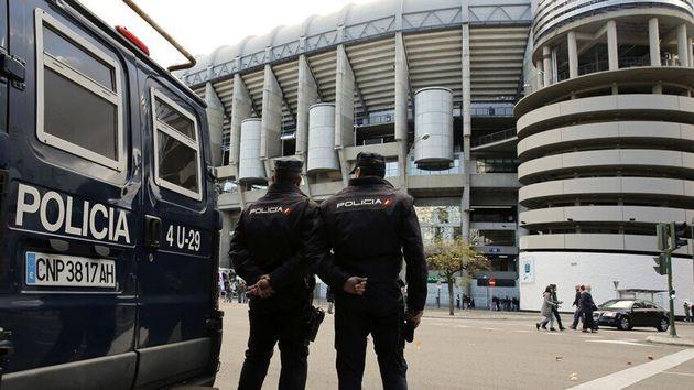 Efectivos Policía Nacional en el