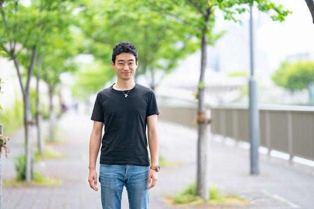 今井紀明さん(西川優介氏撮影)