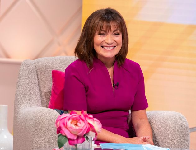 Lorraine Kelly playing the part of