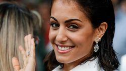 Hiba Abouk clona el 'look' de Georgina Rodríguez y se pone el vestido más comentado de las últimas