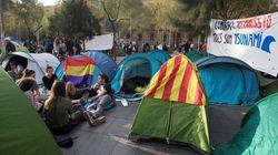 La Junta Electoral descarta desalojar la acampada de estudiantes en