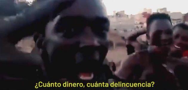 Vídeo de Vox que asocia inmigración y