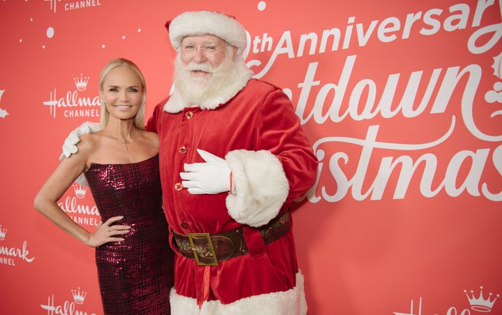 "Chenoweth stars in the Hallmark Channel's ""A Christmas Love Story,"" which airs Dec. 7."