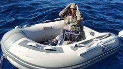 Turista dispersa in mare su un gommone, sopravvive per 37 ore mangiando