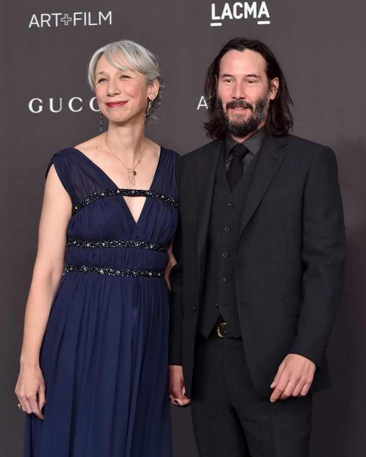 Alexandra Grant has been a friend and book collaborator with Keanu Reeves for a while.
