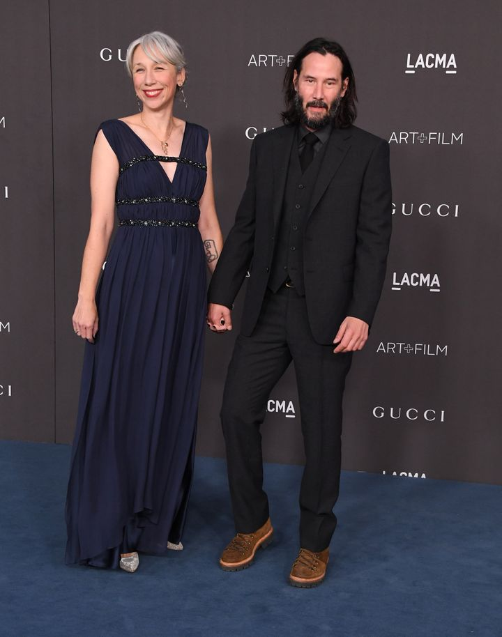 Outlets were running with Keanu Reeves and Alexandra Grant's potential romance when photos like this emerged from Saturday's