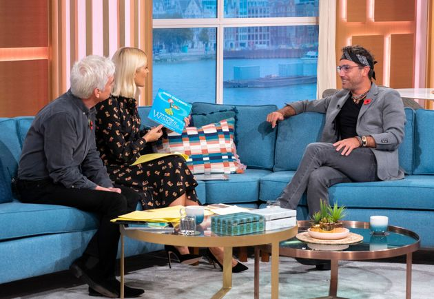 Phillip Schofield, Holly Willoughby and Gino
