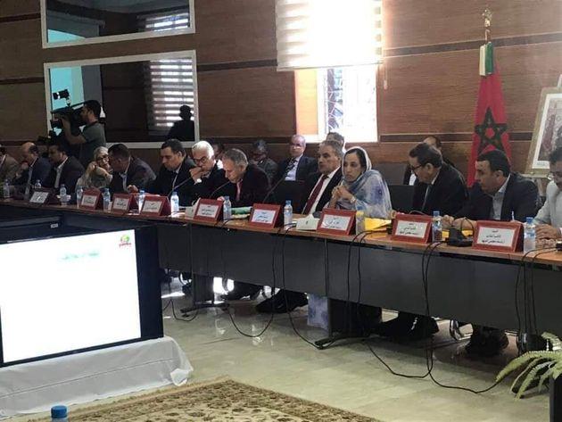 Session extraordinaire du conseil Guelmin-Oued