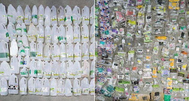 «Κράτησα τα πλαστικά μου απόβλητα στο σπίτι για να μην επιβαρύνω το περιβάλλον. Τώρα είναι η σειρά