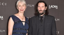 Keanu Reeves et sa compagne Alexandra Grant rayonnants sur le tapis