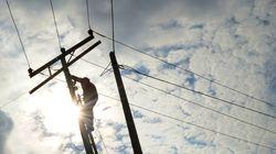 Enfouir les lignes électriques? Une idée à 100 milliards $ qui ne fonctionnerait