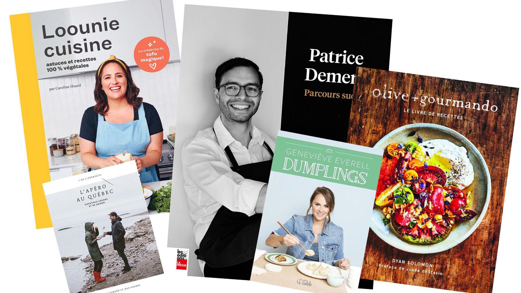 Top 7 des livres de recettes québécois de 2019