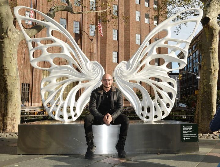 "Artist Rubem Robierb is the creator of ""Dandara,"" a new sculpture that will be displayed at New York's Tribe"