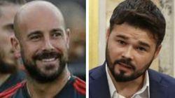 Pepe Reina responde a Gabriel Rufián: