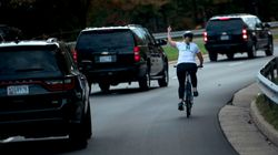 Remember The Cyclist Who Flipped Off Trump's Motorcade? She Just Won A Virginia