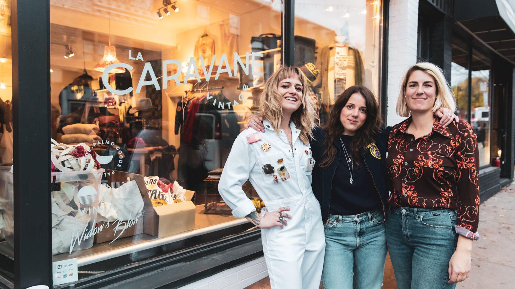 Caravane: la nouvelle boutique vintage et cool de la Main