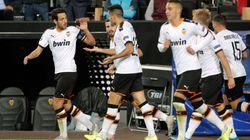 Remontada de 'Champions' del Valencia (4-1) frente al