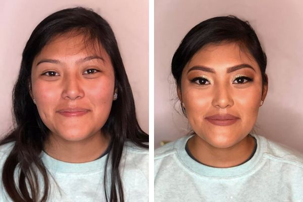 "Makeup transformation with <a href=""https://www.instagram.com/p/B2-eSDjHqDt/?utm_source=ig_web_copy_link"" target=""_blank"" rel=""noopener noreferrer"">Summer palette</a> and<a href=""https://www.instagram.com/p/B2hNwAEFV-I/?utm_source=ig_web_copy_link"" target=""_blank"" rel=""noopener noreferrer""> Liquid Velvet lip color</a>&nbsp;"