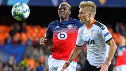 Lille éliminé de la Ligue des champions après sa défaite contre