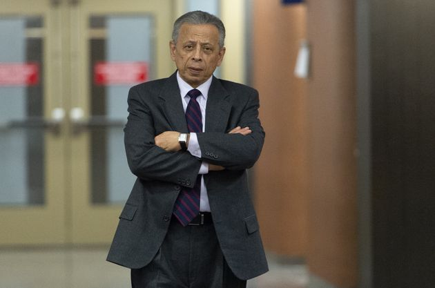 Sami Bebawi, ancien vice-président de SNC-Lavalin, quitte une salle d'audience à Montréal,...