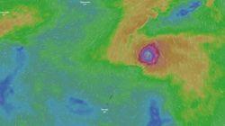 최대풍속 시속 216km짜리 '올해 최강'의 태풍이