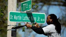 Kansas City-die Stimmen Entfernen Königs Namen Von der Historischen Straße