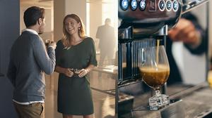 비싼 커피를 회사에서 마실 때 뿌듯해지는