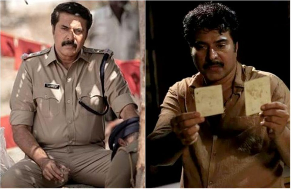 L-R: Mammootty in 'Unda' and