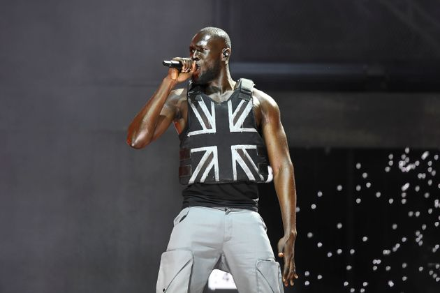 Grime artist Stormzy at