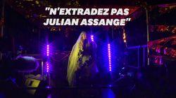 La rappeuse M.I.A chante en soutien à Julian Assange à