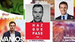 Sánchez, Rivera, Abascal y Errejón coinciden este miércoles con actos de campaña en