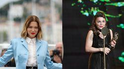 Léa Seydoux et Blanche Gardin tournent à l'Elysée pendant que Macron est en