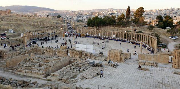 Imagen de archivo de las ruinas romanas