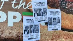 Varios periodistas catalanes lamentan los carteles anónimos que les tachan de