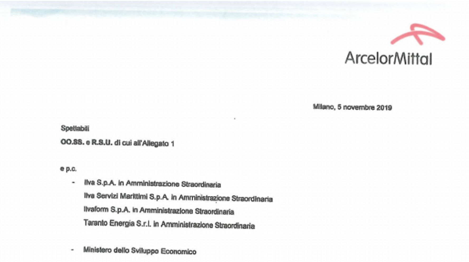 Arcelormittal Avvia La Procedura Per Restituire Ai Commissari Gli Stabilimenti Dell Ex Ilva L Huffpost
