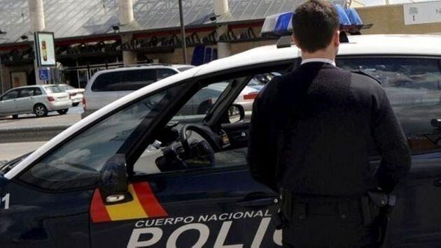 Imagen de archivo de un policía
