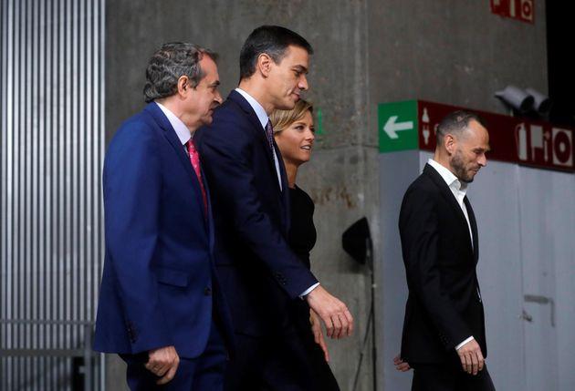 El líder del PSOE y presidente del Gobierno en funciones, Pedro Sánchez