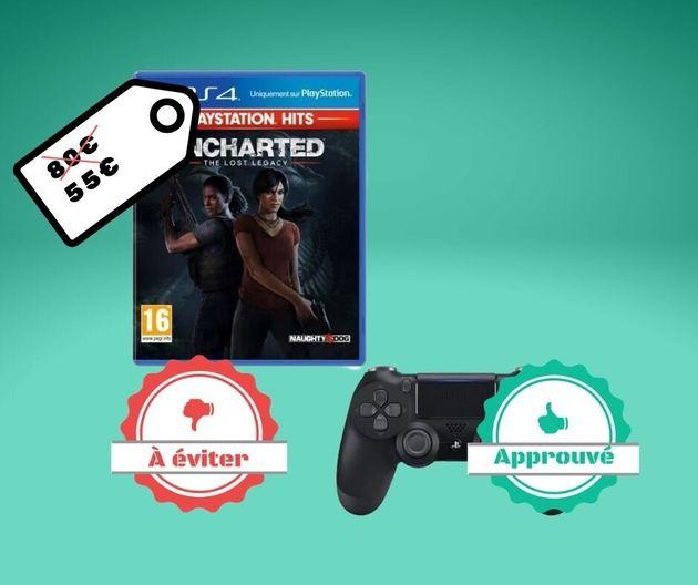 Cdiscount propose The Last of Us et Uncharted: The Lost Legacy en pack avec une manette PS4, mais est-ce...