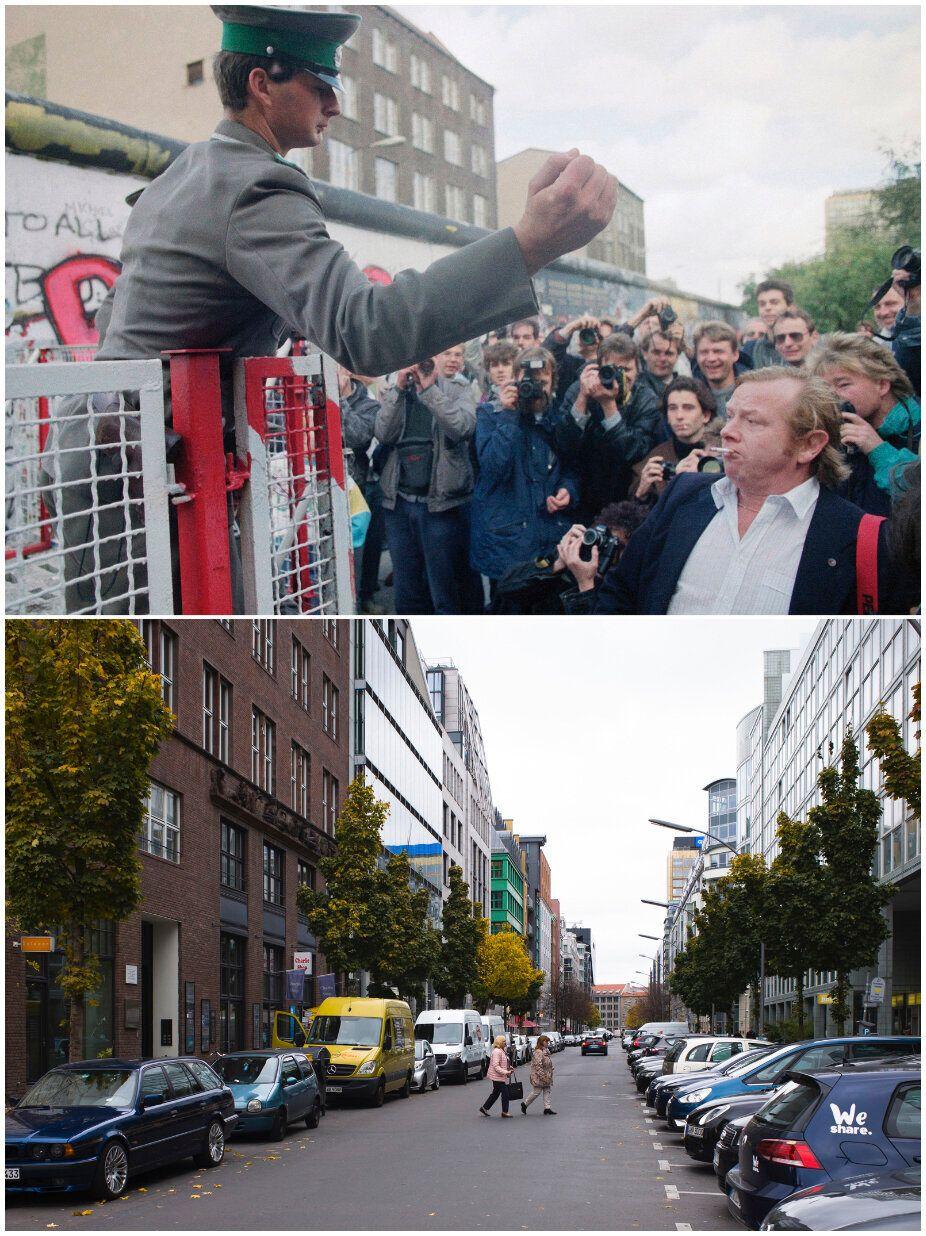 Ο,τι έχει απομείνει από το Τείχος του Βερολίνου τριάντα χρόνια