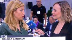 Una corresponsal portuguesa da una lección a los políticos españoles en minuto y