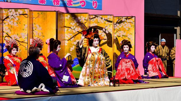 Avec le kabuki, les drag queens au Japon n'ont pas attendu RuPaul pour
