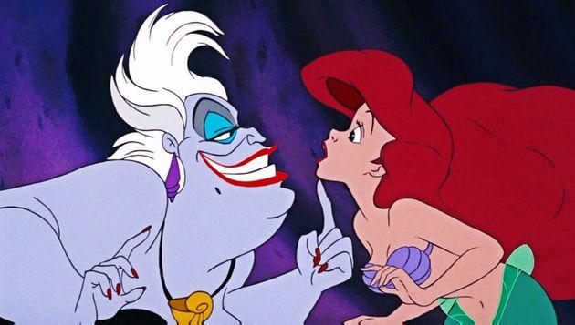 Ursula e Ariel na sequência