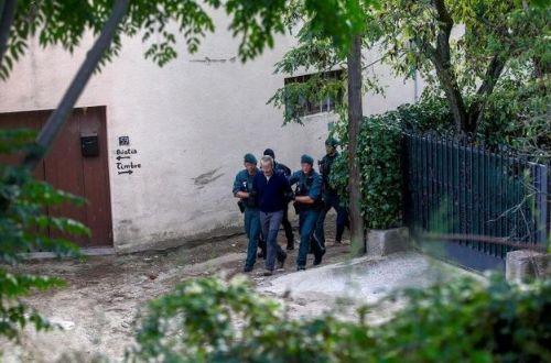 Imagen de archivo de la detención de los
