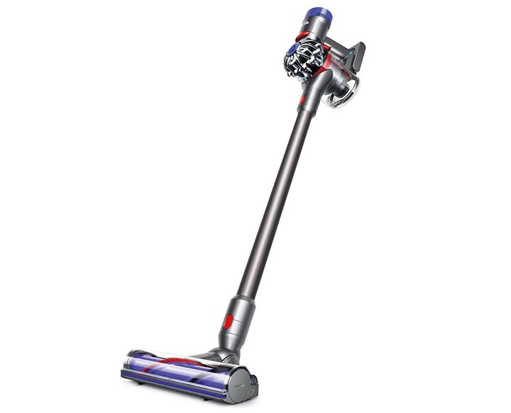 This cordless vacuum makes cleaning up a breeze.